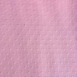 Tissu Plumetis Rose