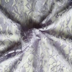Tissu Dentelle Lila x10cm