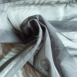 Tissu Résille Noir x10cm