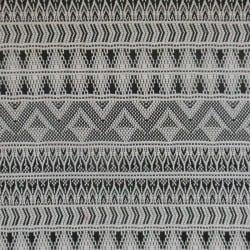 Tissu Jacquard Vilnius Noir x10cm