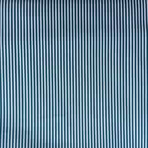 Tissu Popeline rayé Vert x10cm