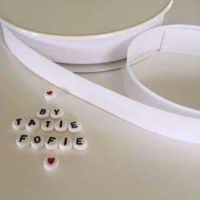 Biais Blanc x50cm