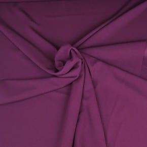 Tissu Scuba Crêpe Aubergine x10cm