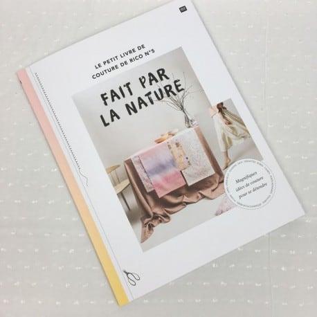 """Livre de Couture n° """"Fait par la nature""""  Rico Design"""
