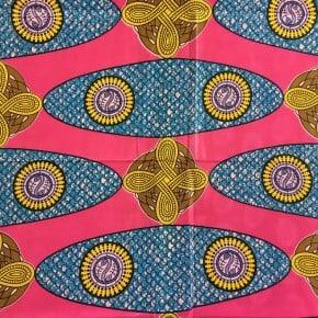 Tissu Wax Bazin Hissa x 10cm