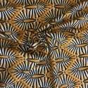 Tissu Viscose Africa Marron  x10cm