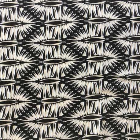 Tissu Viscose Africa Beige  x10cm