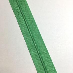 Fermeture éclair non séparable Vert