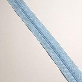 Fermeture éclair non séparable Bleu clair