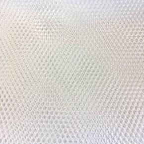 Tissu Filet Blanc x10cm