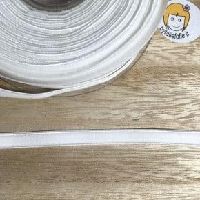 Elastique Lingerie 8mm Blanc