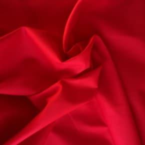 Tissu coton uni rouge x10cm