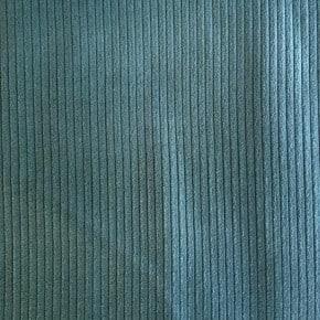 Tissu Velours Côtelé coton Vert x10cm