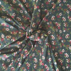 Tissu Jersey Viscose Anaël Vert x10cm