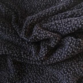 Tissu Jersey Tricot Gris et Noir x10cm