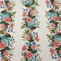 Tissu Canvas Cotton+Steel English Garden Floral Vines Cream x 10cm