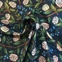 Tissu Coton Cotton+Steel Peonies Navy x10cm