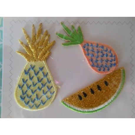 Ecussons à repasser Ananas
