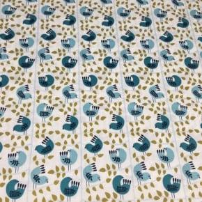 Tissu Dashwood Snow Forest x 10cm