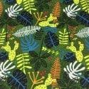 Popeline Jungle Kaki x 10cm