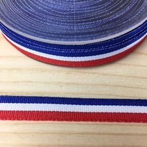 Ruban tricolore 10mm x 50cm