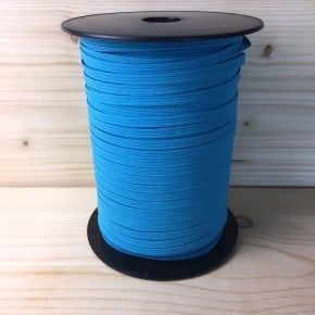 Elastique plat Turquoise  6mm x1m