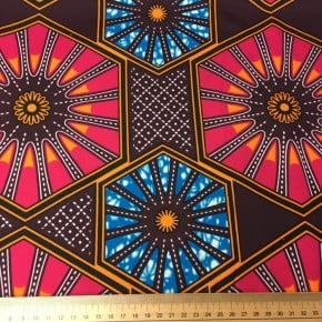 Tissu Wax Mahdi x 10cm