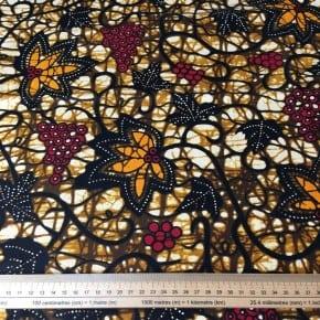 Tissu Wax Tsavo x 10cm