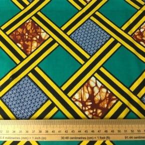 Tissu Wax Sékou x 10cm