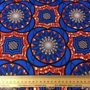 Tissu Wax Rokia x 10cm