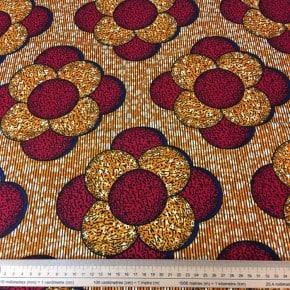 Tissu Wax Maira x 10cm