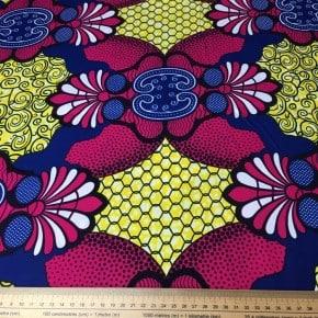 Tissu Wax Johannesburg x 10cm