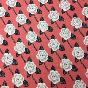 Tissu Coton Cotton+Steel Kibori Chico Corail  x10cm