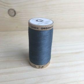 Fil à coudre Coton Bio 275m gris argent