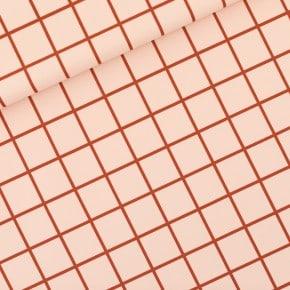 Tissu Lycra Grid Rose Soirée See You At Six x 10cm