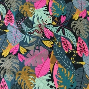 Tissu Dashwood Night Jungle x 10cm