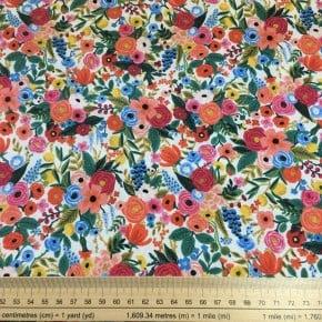 Tissu Coton Cotton+Steel Petite Garden Party Clair x10cm