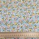 Tissu Coton Cotton+Steel Primavera Petite Fleur jaune x10cm