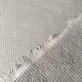Tissu éponge Nid D'abeille Noir x 10cm