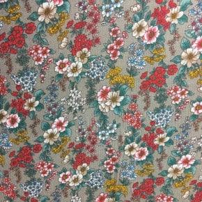 Tissu crêpe de Viscose La Charmante beige  x10cm