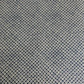 Tissu Japonais Shibori Indigo Coton x10cm