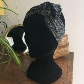 Bandeau Sashiko Noir