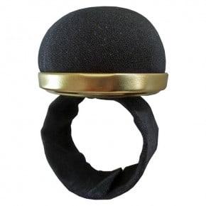 Bracelet Porte épingles Noir Auto Ajustable