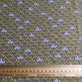 Jersey Coton Brindille Gris  x10cm
