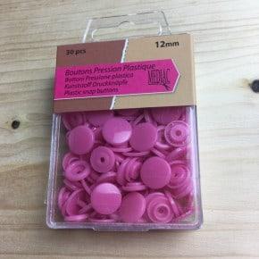 Pressions plastiques Rose