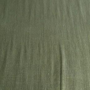 Tissu Viscose et Lin Uni Kaki  x10cm
