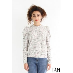 I am Lion sweatshirt Femme