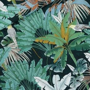Tissu Viscose Jungle Green Gables See You At Six x10cm