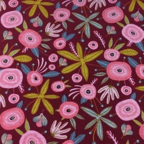 Jersey Flower Pilou x10cm