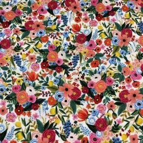 Tissu Viscose Cotton+Steel Petite Garden Party Clair x10cm